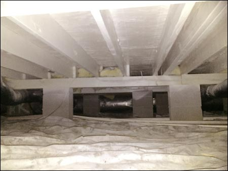 crawlspace remediation encapsulation