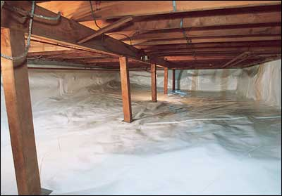 Encapsulation by Emergency Restoration Services in Virginia Beach, VA