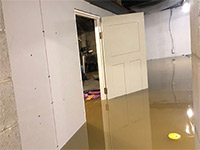 Water in Basement | How to Fix Flooded Basement